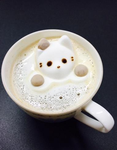 マシュマロ猫ちゃん
