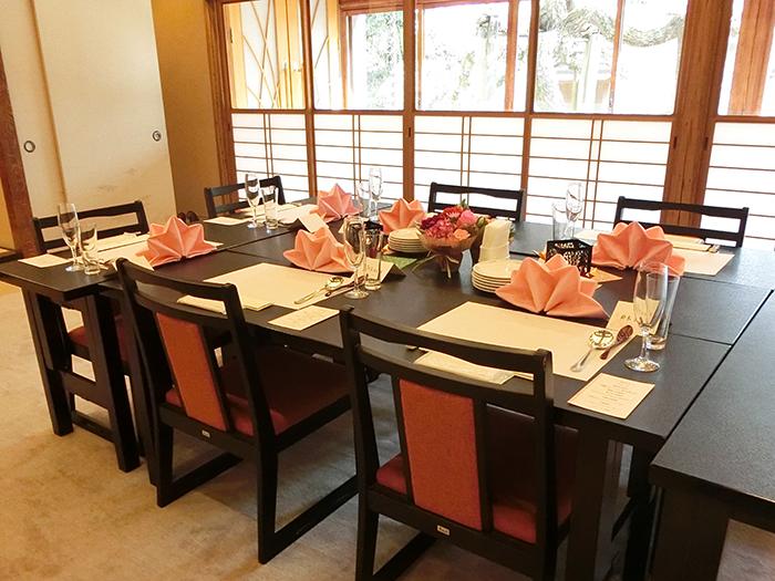 家族婚・親族婚はぜひティアラグリーンパレスで!少人数の披露宴や会食向けのバンケット「源氏」「静雅」のご紹介です! | 宮の森迎賓館ウエディングBLOG