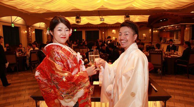 【乾杯酒といえば・・・!】シャンパンや日本酒、幸せや夫婦円満という素敵な意味が込められています♡