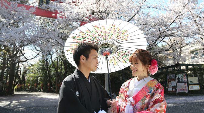【桜×木瓜の花✿最高のロケーション!!】FWのご予約承っております♪
