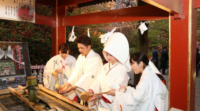 【日本古来からの伝統的な挙式〈神社婚〉】冠稲荷神社で行われている大前神前式の流れをご紹介の終盤戦!!