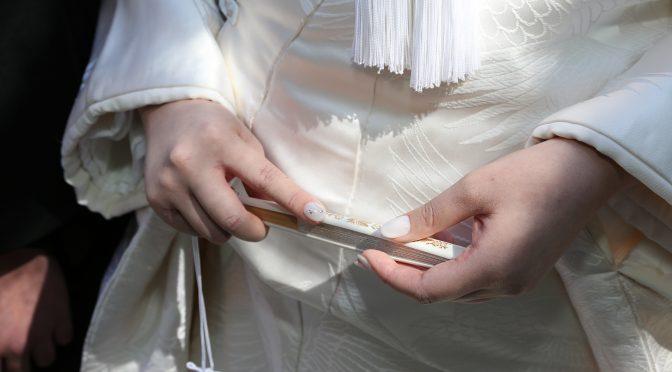 【和装ウェディングドレス】今回は・・・part3☆