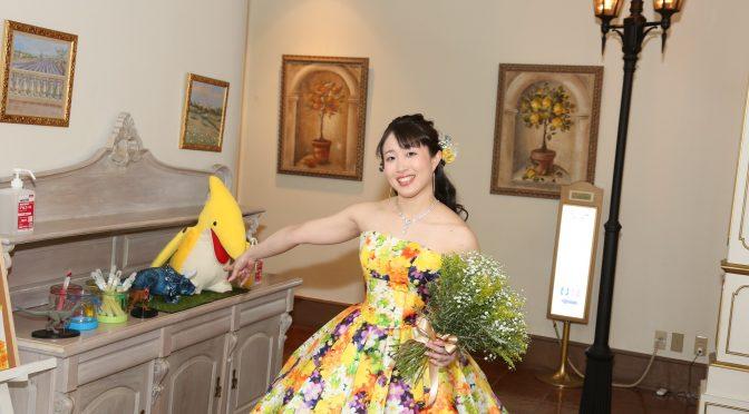 【ニナミカドレス&カスミソウブーケ】お二人らしさが全開のウェディングレポートPART4☆