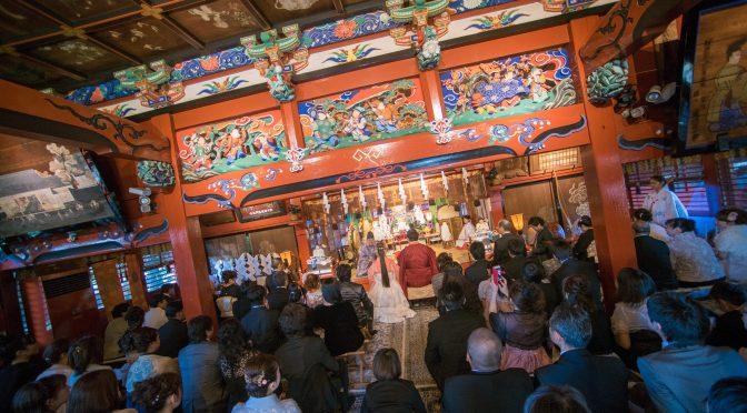 【伝統的で格式高く】神社婚について❀
