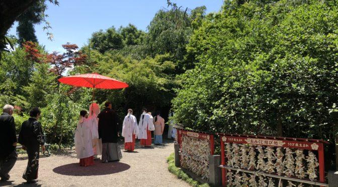 【神社婚で凜と美しく】神社で挙げる結婚式!!第一弾☆