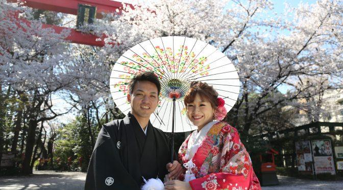 【春と言えばお隣!!冠稲荷神社の木瓜の花✿】3月の中旬頃開花予定です♪