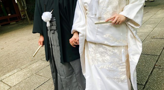 【自分に合った着物で素敵な結婚式を】奥深い和装について