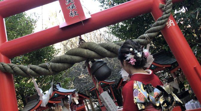 【冠稲荷神社境内の紅葉✿】11/21現在の様子をご紹介!!