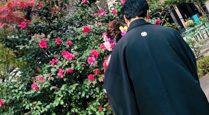 【今日の紅葉🍃】冠稲荷神社でのロケーション撮影