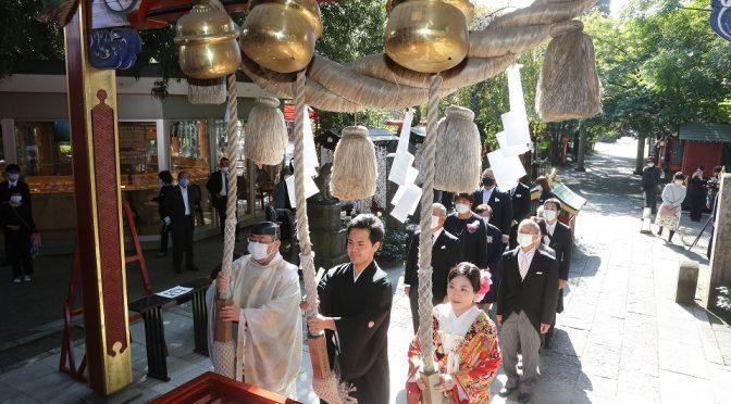 【神社で挙げる結婚式✿】縁結びの冠稲荷神社❀