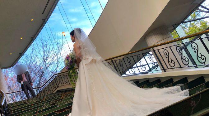 【純白のウェディングドレスでの撮影】秋のフォトウェディング続き!!