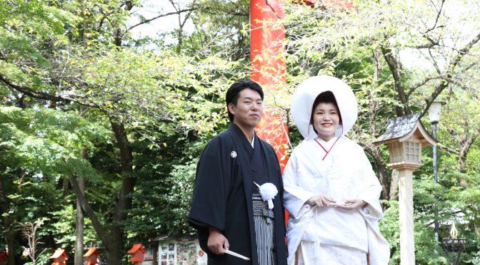 【伝統的な和装❀】神社婚でお召しになられる衣装について
