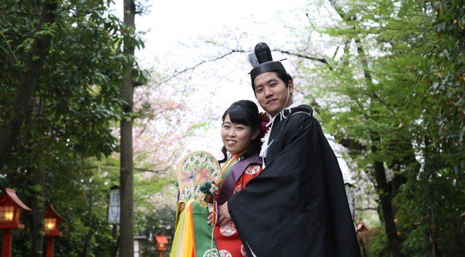 【春フォトご紹介✿】十二単での特別なフォトウェディングを!!
