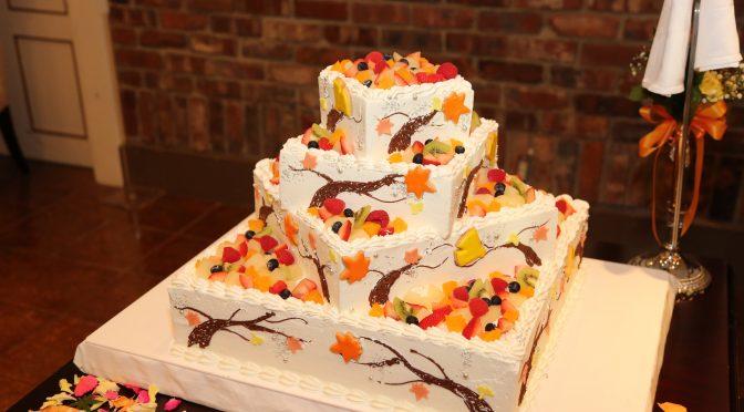 【ウェディングケーキも沢山こだわりましょう!!】先輩花嫁様・花婿様のケーキを参考に♬