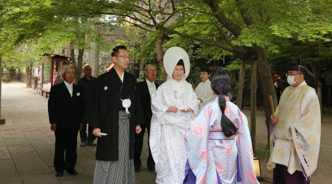 【HAPPY WEDDING♬】桜と新緑の挙式をご紹介!!