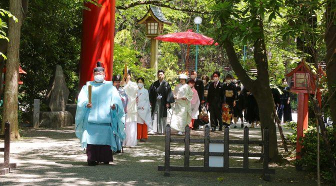 【✿HAPPY WEDDING✿】新緑の大前神前結婚式🍀