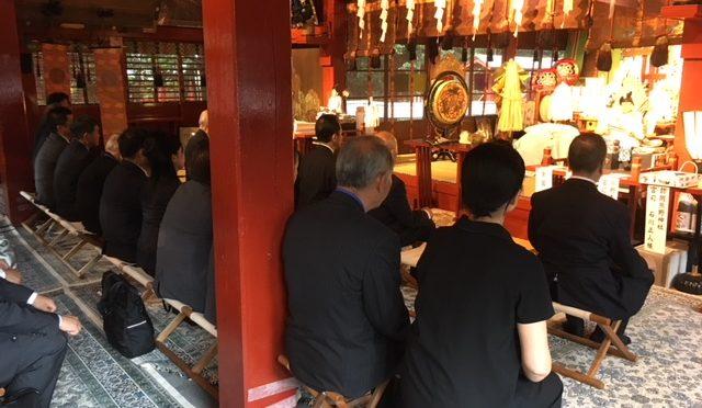 冠稲荷神社、そしてティアラ グリーンパレスにて「全国熊野会 総会」開催!! 全国各地より錚々たる顔ぶれがお集まりくださいました!