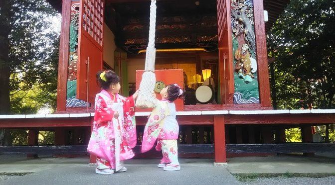 本日も冠稲荷神社の境内は七五三を迎えられるお子様とご家族様で賑わいました^^