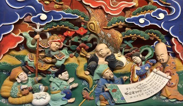 七福神限定ご朱印のモチーフであり、今月の「五社大明神と七福神巡り」の神様である恵比寿様についてご紹介致します。