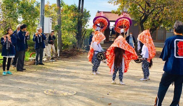 阿久津稲荷神社の祭典に行ってまいりました。獅子舞も見学してきました!
