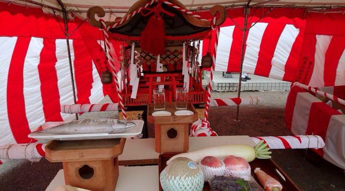 皆様の地域でお祭りは行われましたか?これからお祭りや花火大会が行われる地域もあることでしょう。神社でも最近は祭典やお祭りで使用するお神輿の御霊入れなどがありました。本日はお祭りについて考えてみたいと思います。
