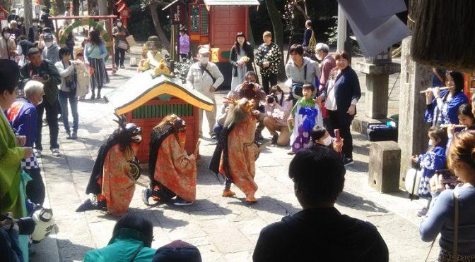 3連休の最終日、冠稲荷神社では初午大祭が開催されました♪
