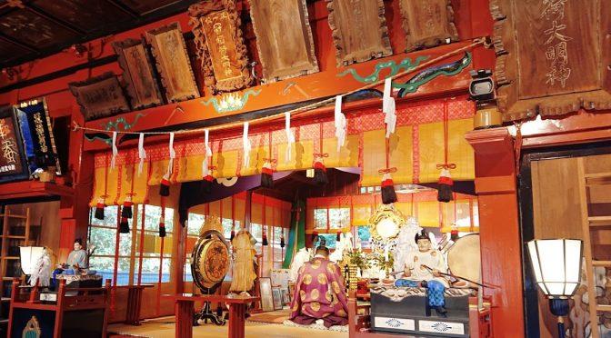 本日は建国記念日です。拝殿では8時より紀元祭が執行されました。
